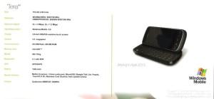 HTC Tera Specs
