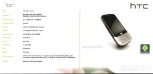 HTC Tide Specs