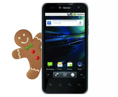LG G2X Gingerbread