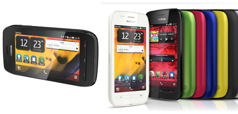 NFC-enabled Nokia 603 with Symbian Belle announced