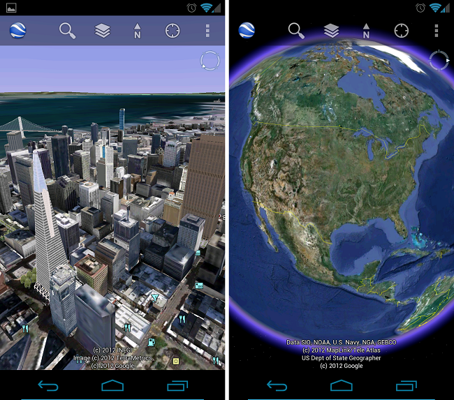 Google Earth For Android Gets Revamped New Layers Include