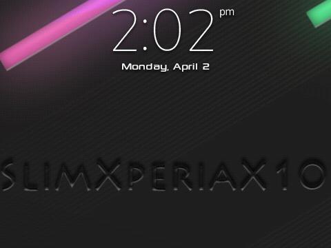 SlimXperiaX10 2012