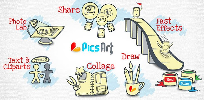 Android app of the day picsart photo studio Photo art app free download