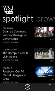 wsj app windows