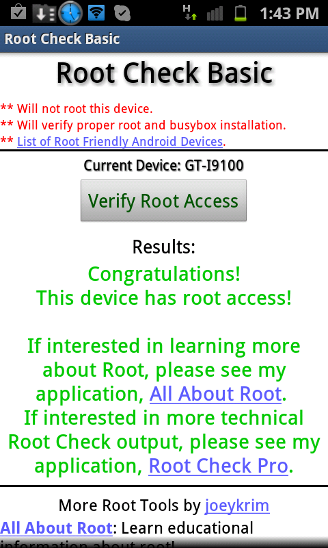 How to Check Whether Your Android Device is Rooted or Not
