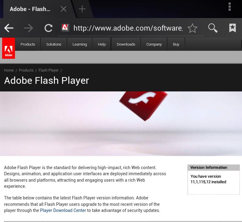 How To Enable Adobe Flash on the Nexus 7