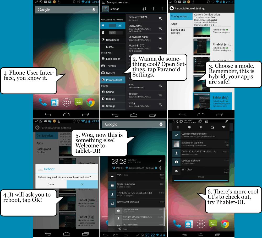 Paranoid Android JB 4 1 1 ROM