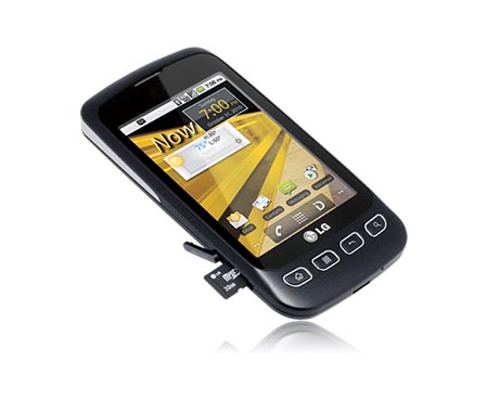 how to root the lg optimus s rh theunlockr com LG Optimus Walmart LG Optimus G From AT&T