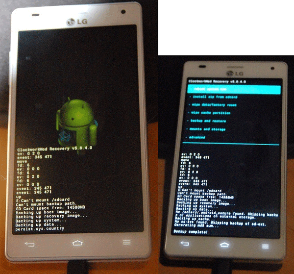How to Flash a Custom Recovery on the LG Optimus 4X HD