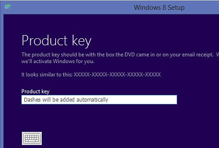 windows 8 2013 key