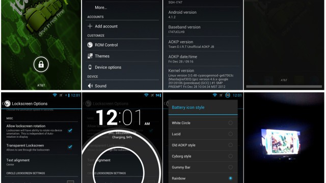 Dirty Unicorns Samsung Galaxy S II Skyrocket