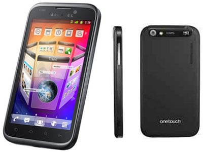 How to Flash a Custom Recovery on the Alcatel One Touch 995