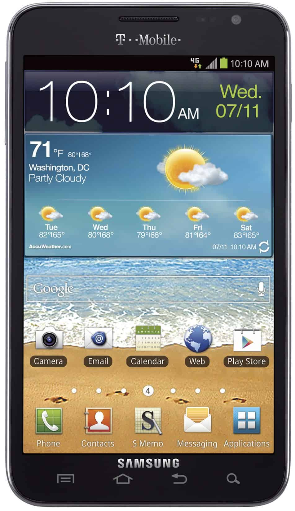 How to Root the Samsung Galaxy Note (T-Mobile)