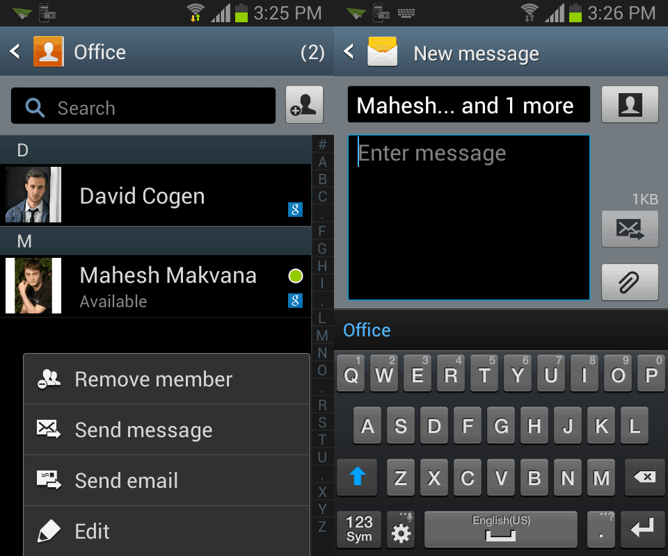 How To Send A Message To A Group On The Samsung Galaxy S4