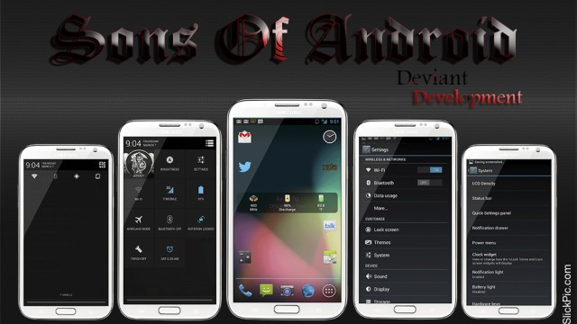 Sons Of Android Samsung Galaxy S II Skyrocket