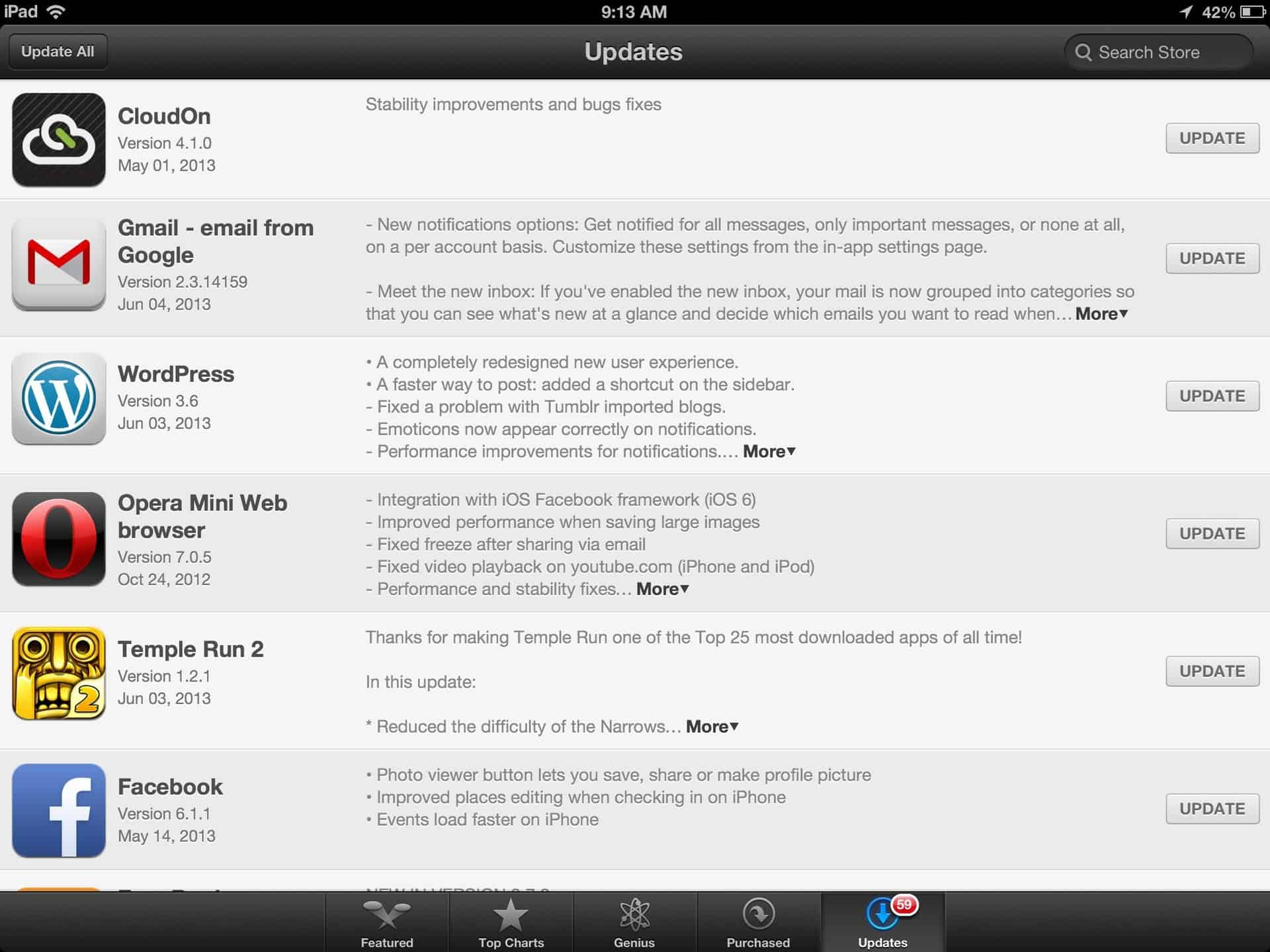 How to Update Apps on the iPad - Ipadastic