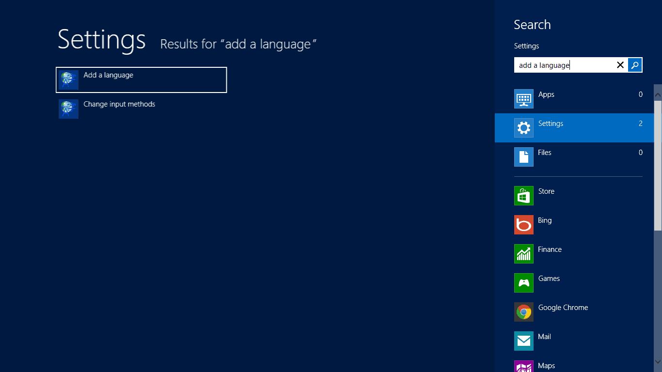 how to add language to keyboard windows 8