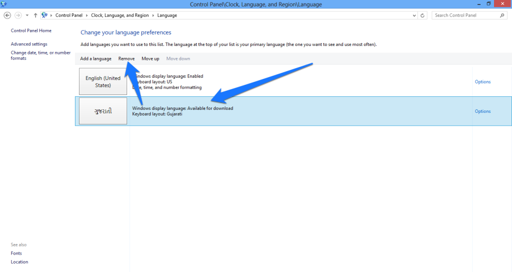 How to Add and Remove Language Packs in Windows 8