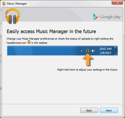 click yes to easy gplay manager