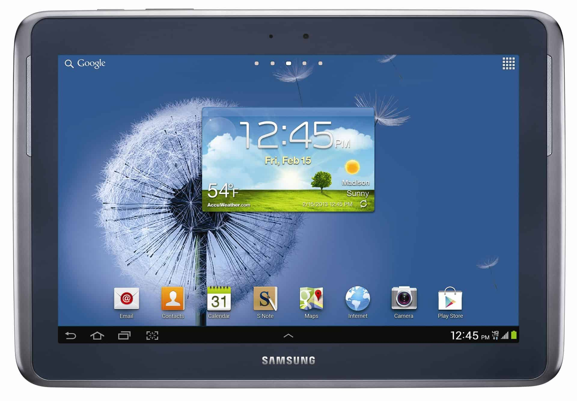 Samsung Galaxy Tab - How to do an underscore