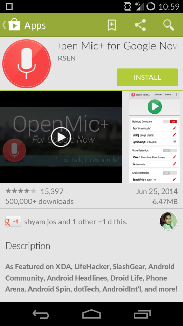 Install Open Mic+