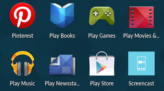 Open the Play Store