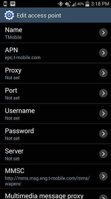 How to Setup Your Internet/MMS Settings on an Android Phone