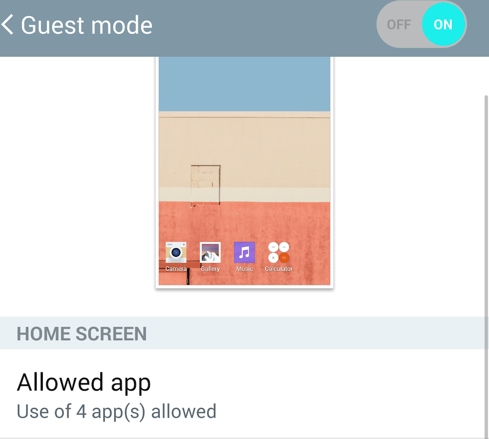 How to Setup a Guest Mode for Other Users on the LG G3