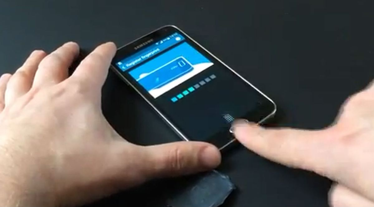 How to Use the Fingerprint Scanner on the Samsung Galaxy S5