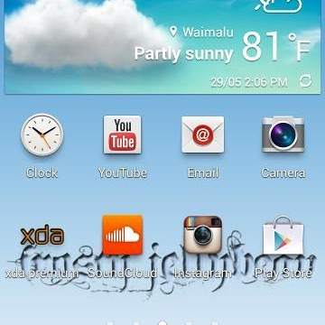 Frosty Jellybean S4 v3 ROM