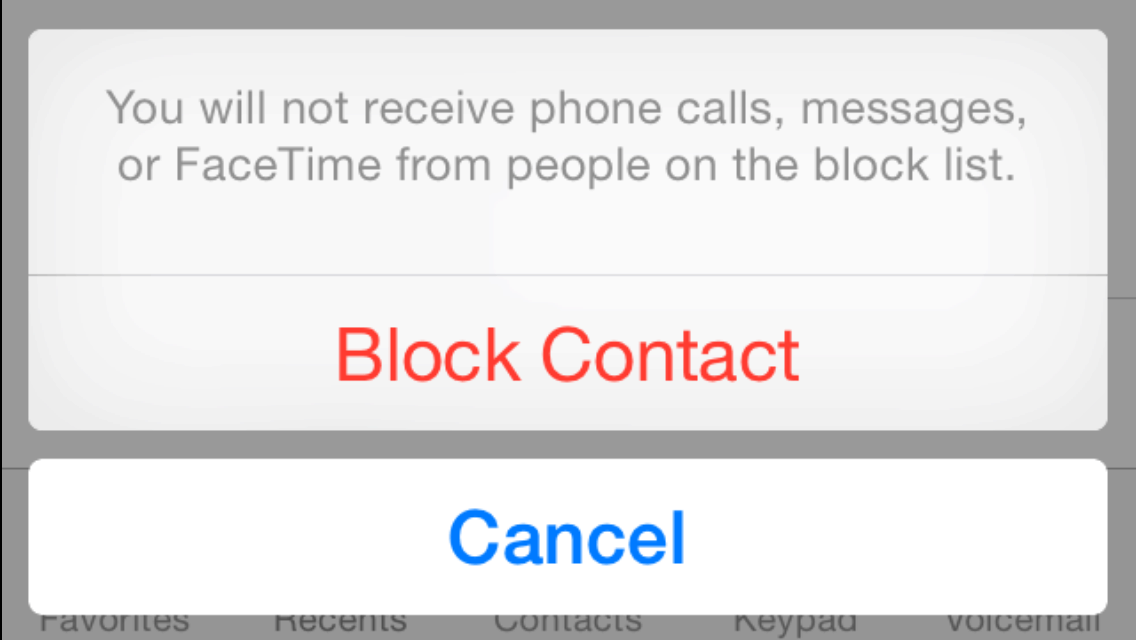 how to block someone on your iphone how to block calls on the iphone 19860