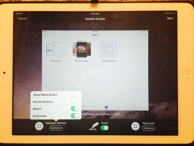 how to put parental controls on ipad