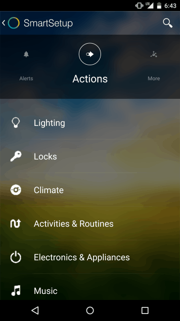 Smartthings Actions
