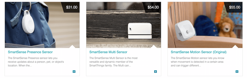 Smartthings Sensors