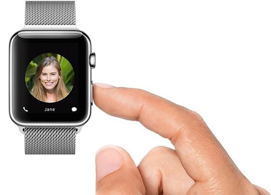 Apple Watch Friends Screen