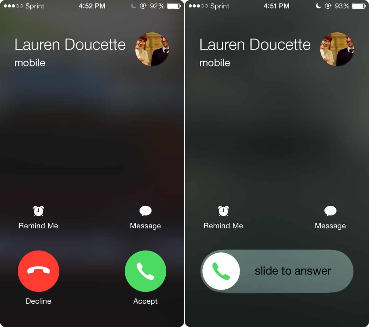3 way call on iphone where is the decline button on incoming calls for ios 8 16546