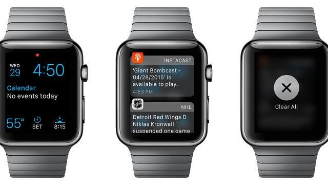 Apple Watch Clear Notifications