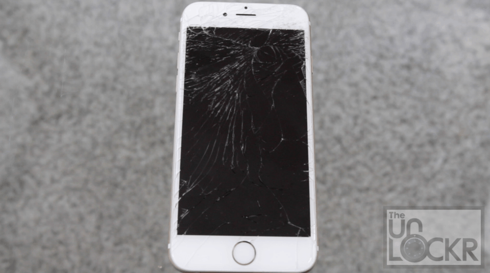 Cracked IPhone 6 Screen