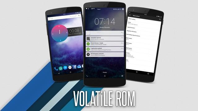 VOLATiLE - v.1.0.1 ROM