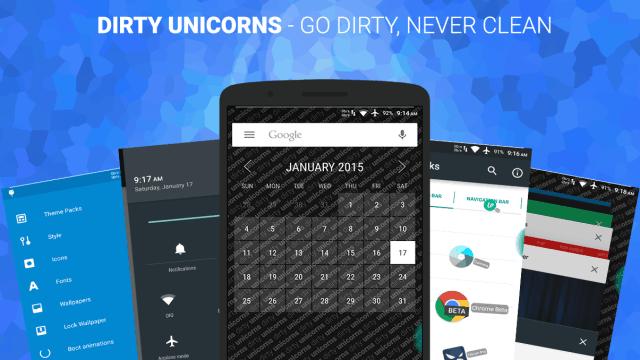 Dirty Unicorns v9.3 ROM