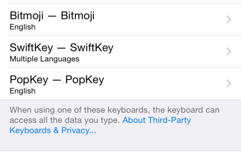 Tap PopKey Again