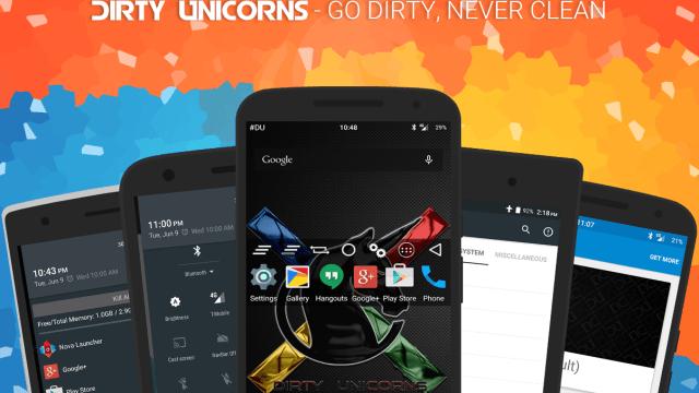 Dirty Unicorns 5.1.1 ROM
