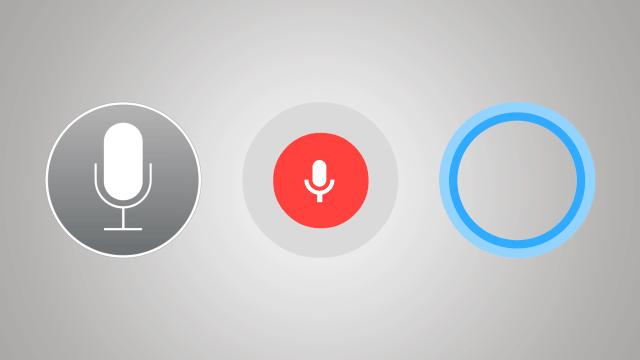 Siri, Google Now, Cortana