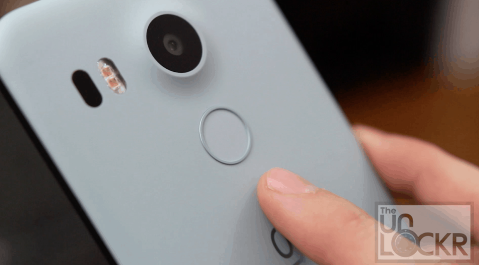 Nexus 5X Fingerprint Scanner