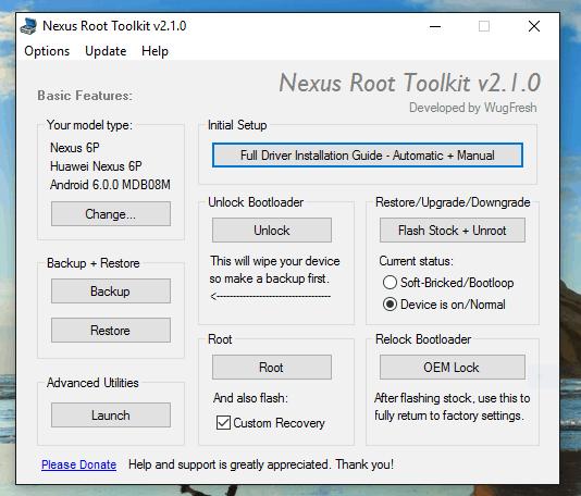 How to Unroot the Nexus 6P (Toolkit Method)
