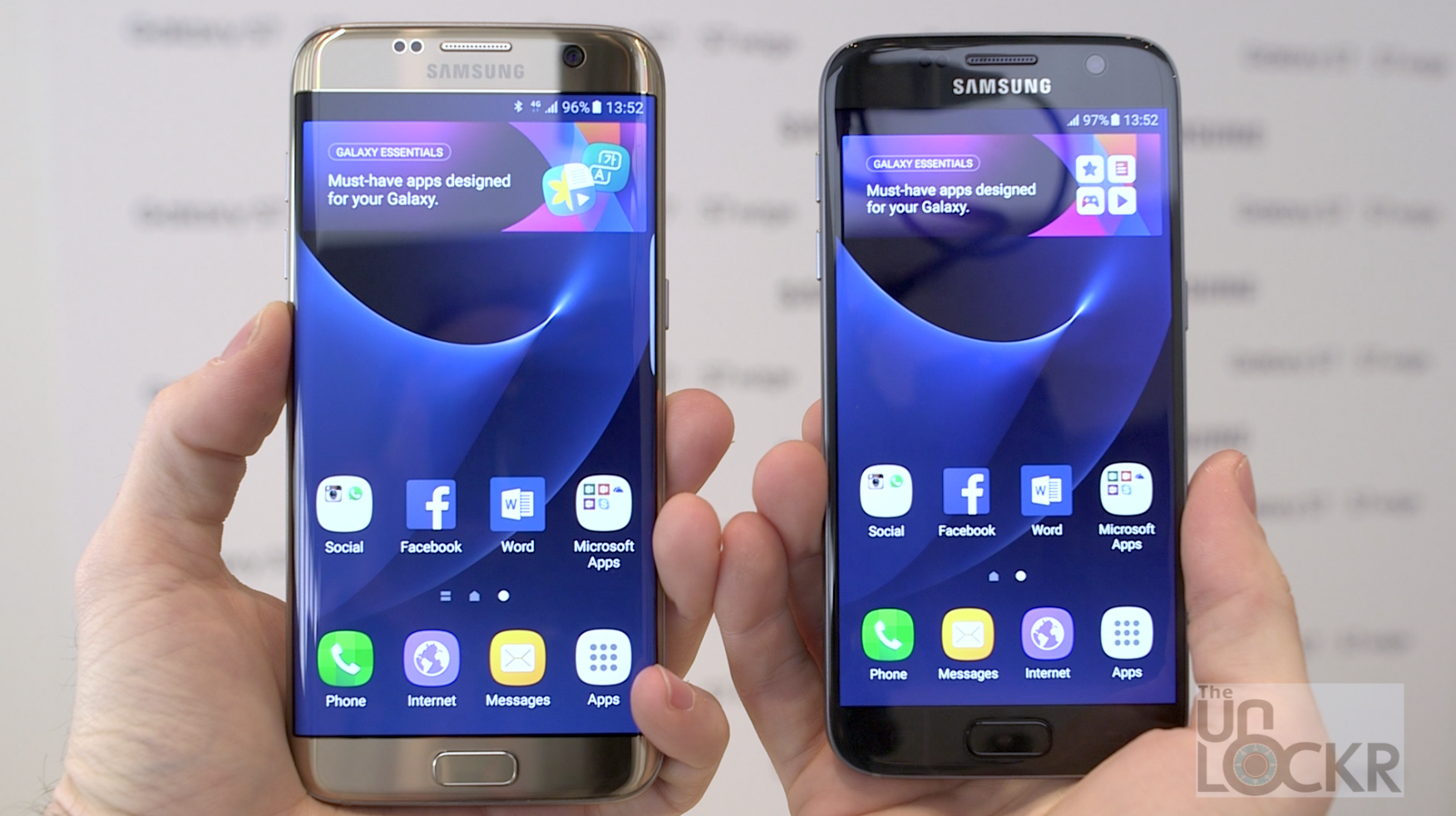 Samsung Galaxy S7 & S7 Edge Hands-On (Video)