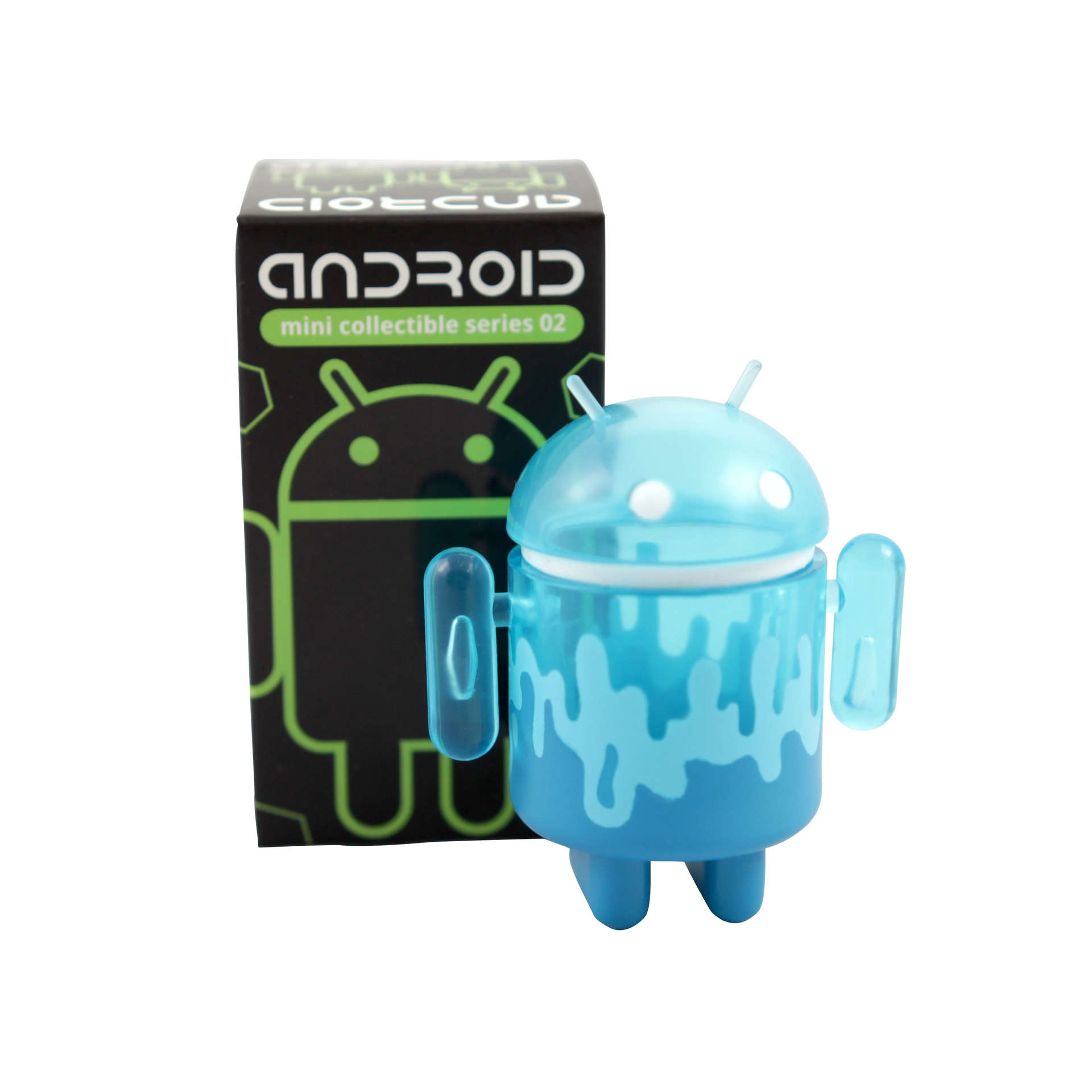 Android Figurine and Box