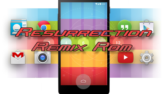 Resurrection Remix v5.5.6 ROM