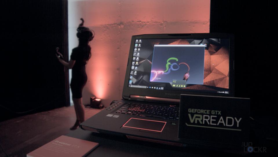 Acer Predator 17X VR Ready