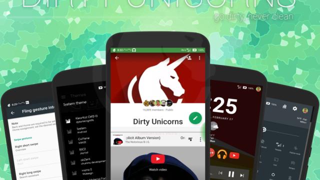 Dirty Unicorns ROM